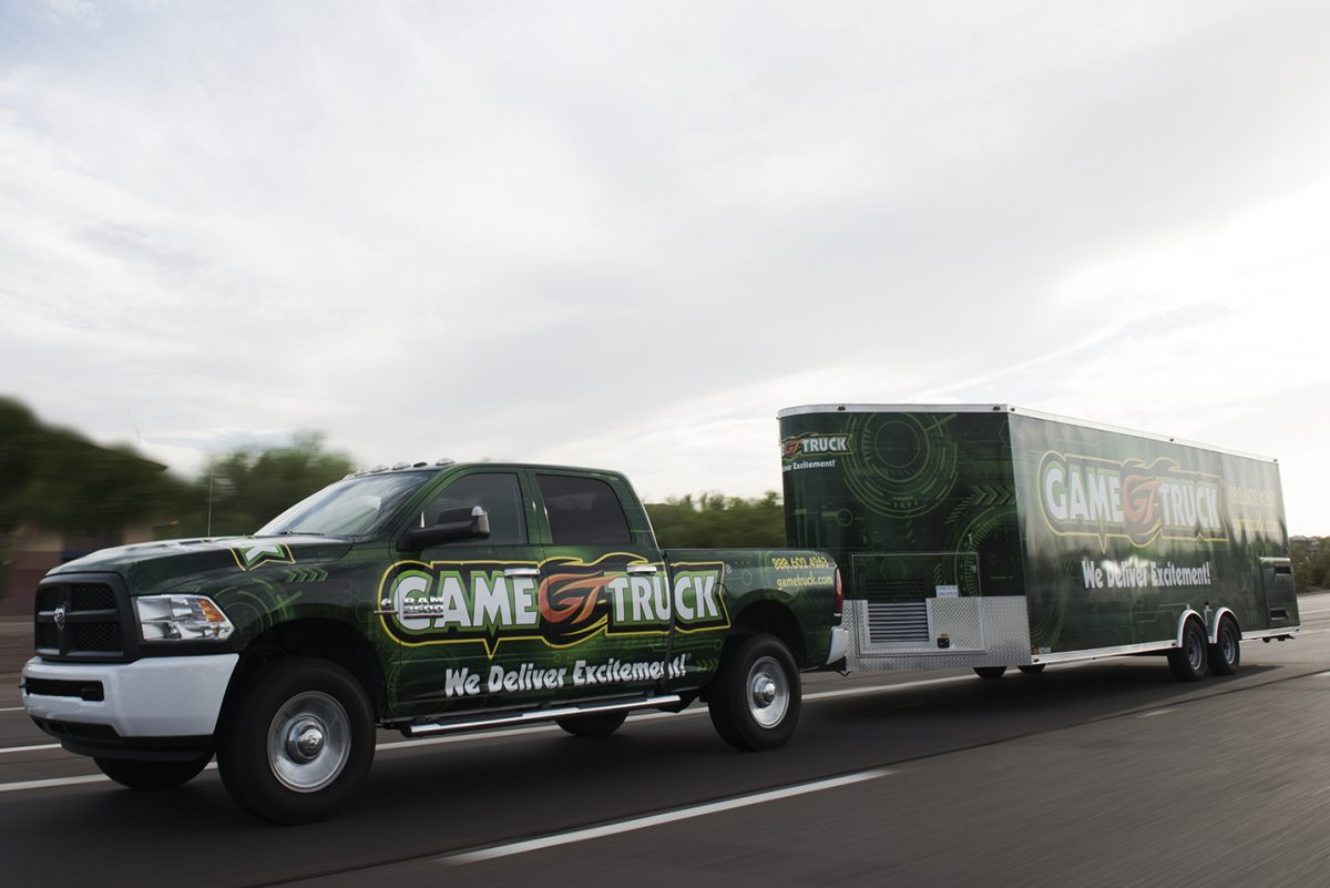 GameTruck To The Rescue